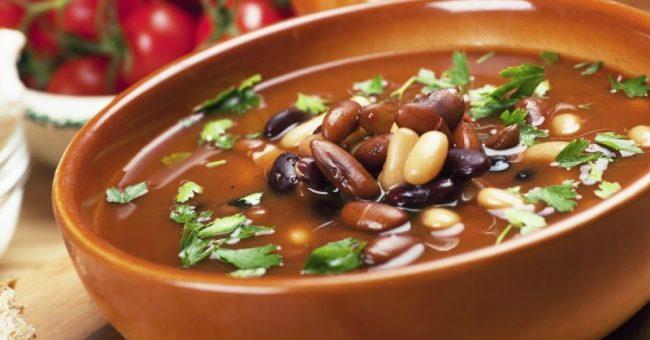 фасолевый суп вегетарианские рецепты