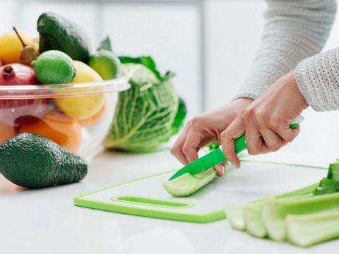 Зелёный салат для праздника