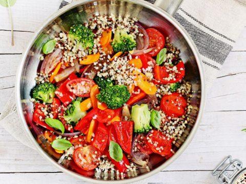 Салат «Нарядный» овощной
