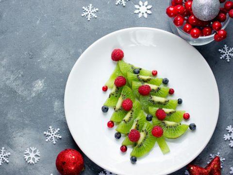 Салат фруктовый «Ёлочка»