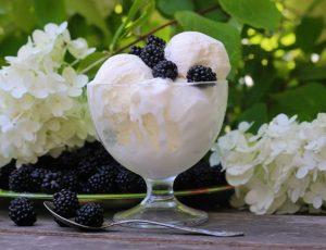 Домашнее мороженое из сливок
