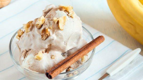 Домашнее детское мороженое из творога с бананами