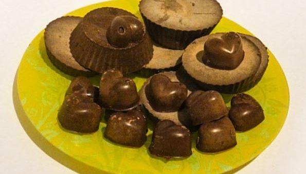 Молочный вегетарианский шоколад из кэроба