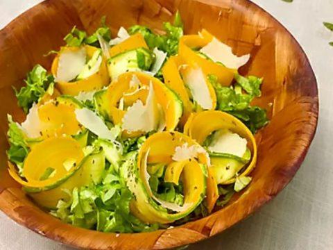 цуккини и сыр салат