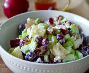 вальдорф вкусный салат