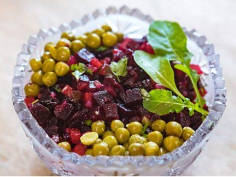 вегетарианский винегрет вкусная и полезная еда